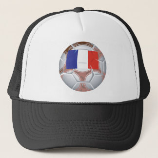 French Soccer Ball Trucker Hat