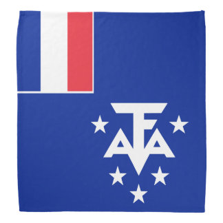 French Southern and Antarctic Lands Flag Bandana