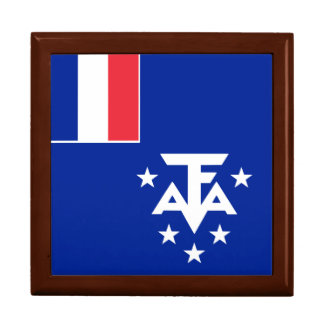 French Southern and Antarctic Lands Flag Gift Box