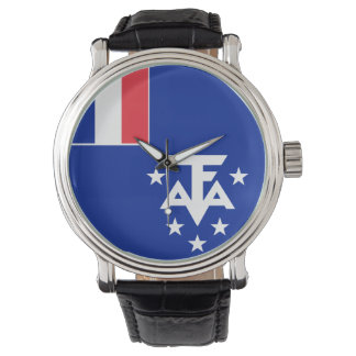 French Southern and Antarctic Lands Flag Wrist Watches