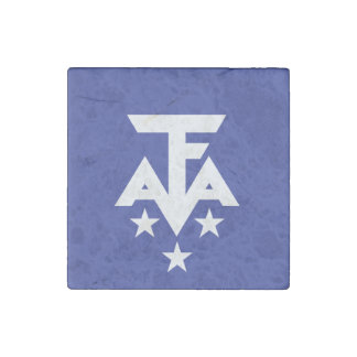 French Southern Antarctica Flag Stone Magnet