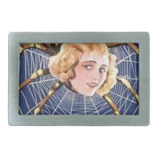 French Spider Girl Belt Buckle