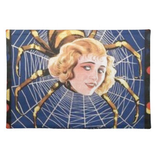 French Spider Girl Placemat