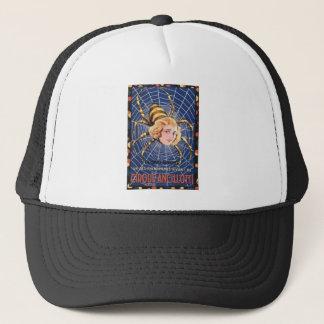 French Spider Girl Trucker Hat