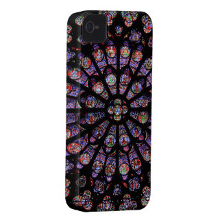 French Stain Glass Window iPhone Case iPhone 4 Case-Mate Cases