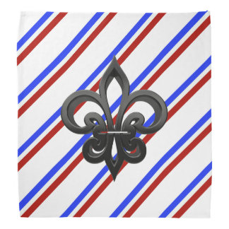 French stripes flag bandana