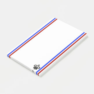 French stripes flag post-it notes