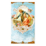 French Style Baroque Couple & Piano Business Cards