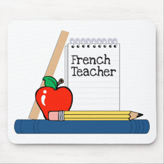 French Teacher (Notebook) Mouse Pad