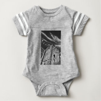 French the Middle Ages kisses the darkness skies Baby Bodysuit