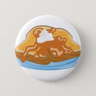 French Toast 6 Cm Round Badge