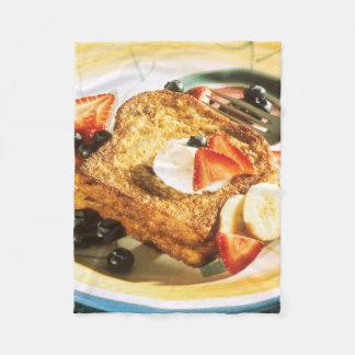 French Toast Fleece Blanket