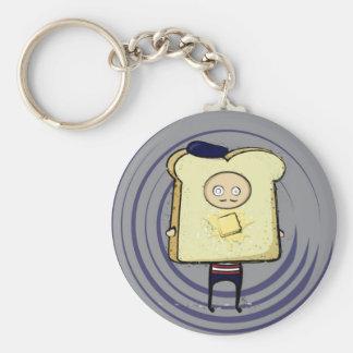 french toast key chain