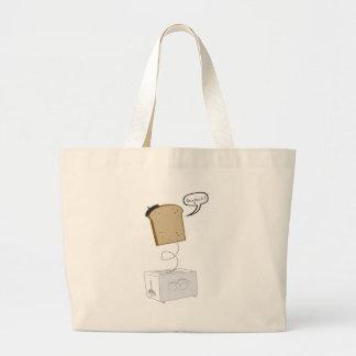 French Toast Tote Jumbo Tote Bag