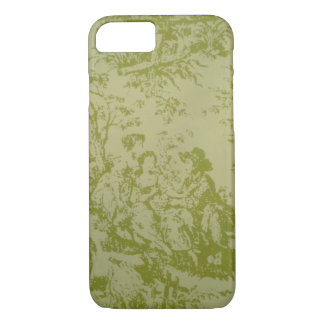 French Toile Print iPhone 8/7 Case