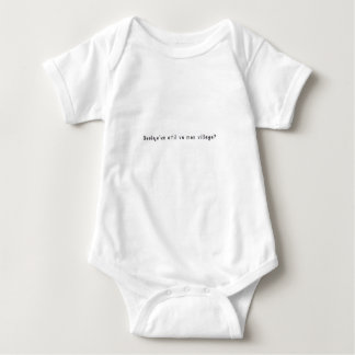French-Village Baby Bodysuit