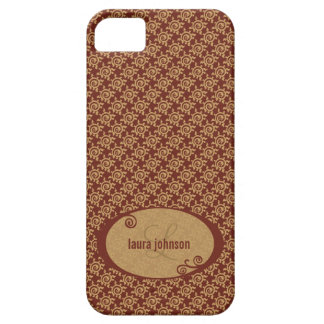 French Vintage Floral Pattern iPhone 5 Cases