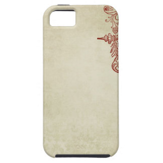 french vintage style stamp iPhone 5 covers