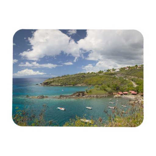 FRENCH WEST INDIES (FWI), Guadaloupe, Basse, Vinyl Magnet