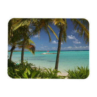 French West Indies, Guadaloupe, Grande Terre, 2 Rectangular Magnet