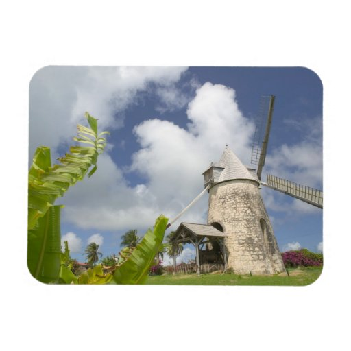 French West Indies, Guadaloupe, Marie, Galante Flexible Magnet