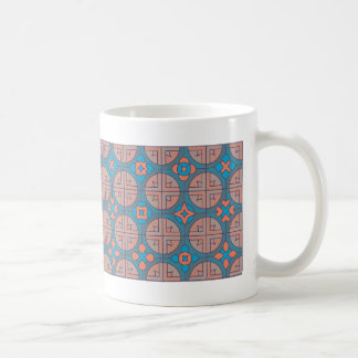 French zen-patterns coffee mug