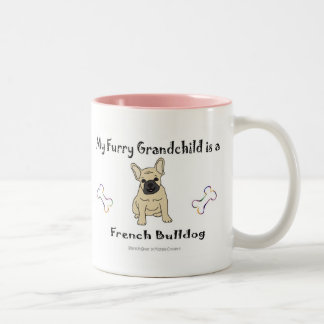 FrenchBulldogFawn Two-Tone Coffee Mug