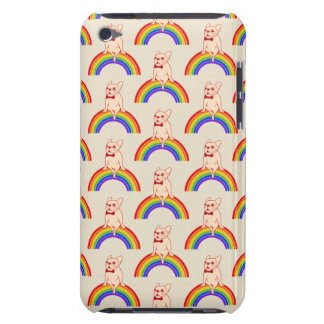 Frenchie celebrates Pride Month on LGBTQ rainbow iPod Touch Cover