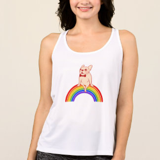 Frenchie celebrates Pride Month on LGBTQ rainbow Singlet