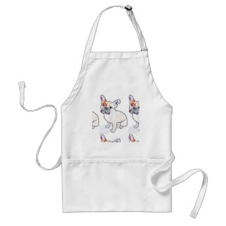 frenchie clown standard apron