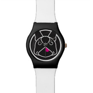 Frenchie Face Wrist Watches