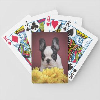 Frenchie - French bulldog puppy Poker Deck