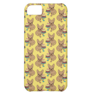 Frenchie has a Birthday iPhone 5C Case