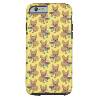 Frenchie has a Birthday Tough iPhone 6 Case