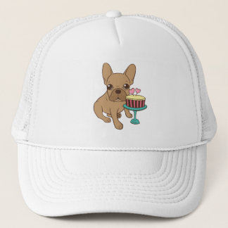 Frenchie has a Birthday Trucker Hat