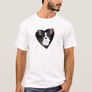 Frenchie Heart T-Shirt
