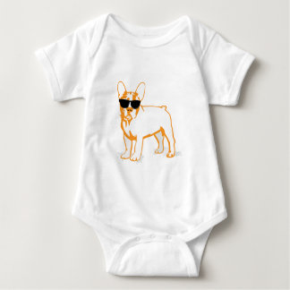 Frenchie Howlelu Baby Bodysuit