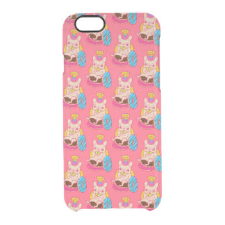 Frenchie is The King of Doughnuts Clear iPhone 6/6S Case
