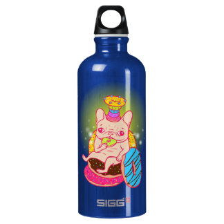 Frenchie is The King of Doughnuts SIGG Traveller 0.6L Water Bottle