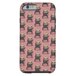 Frenchie Ninja Tough iPhone 6 Case