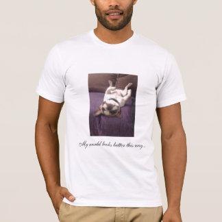 Frenchie on back T-Shirt