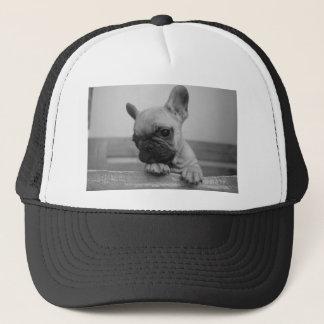 Frenchie puppy trucker hat