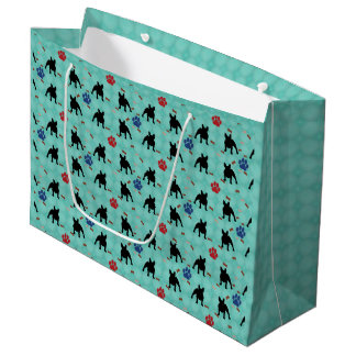 Frenchie Shadow Large Gift Bag