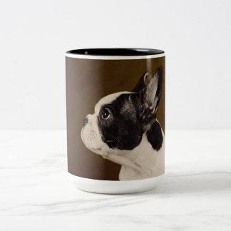 Frenchie Two-Tone Coffee Mug