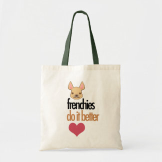Frenchies Do It Better: tote bag