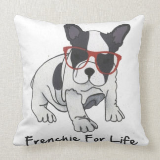 Frenchies For Life Cushion