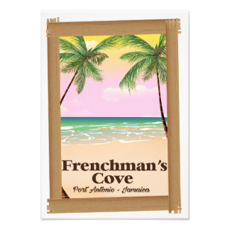 Frenchman's Cove Port Antonio, Jamaica Photo Print