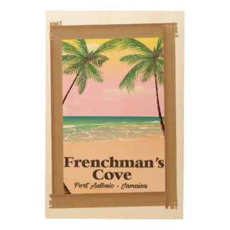 Frenchman's Cove Port Antonio, Jamaica Wood Wall Art