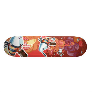 Frenchy Romance - Empire State building Skate Deck