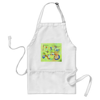 Frenesia - mad world standard apron